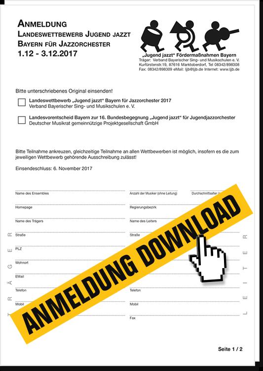 Anmeldung downloaden (PDF)
